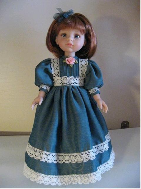 Платья для больших кукол своими руками 51