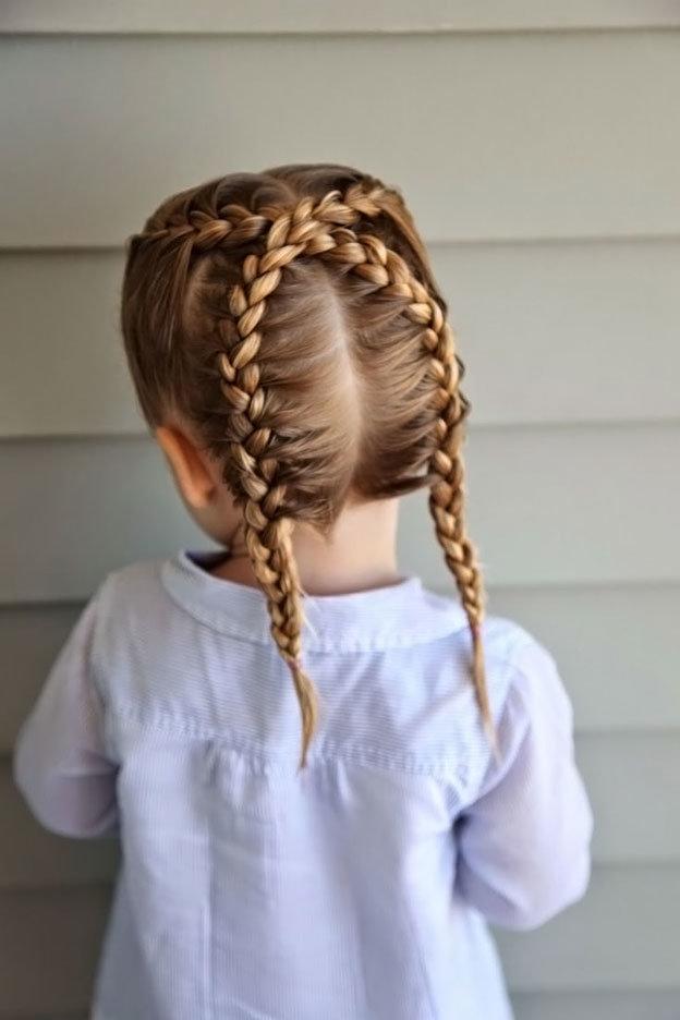 Причёски для девочек 10 лет на каждый день