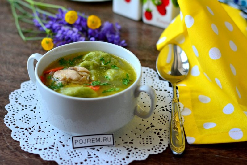 Рецепты простых супов с клецками