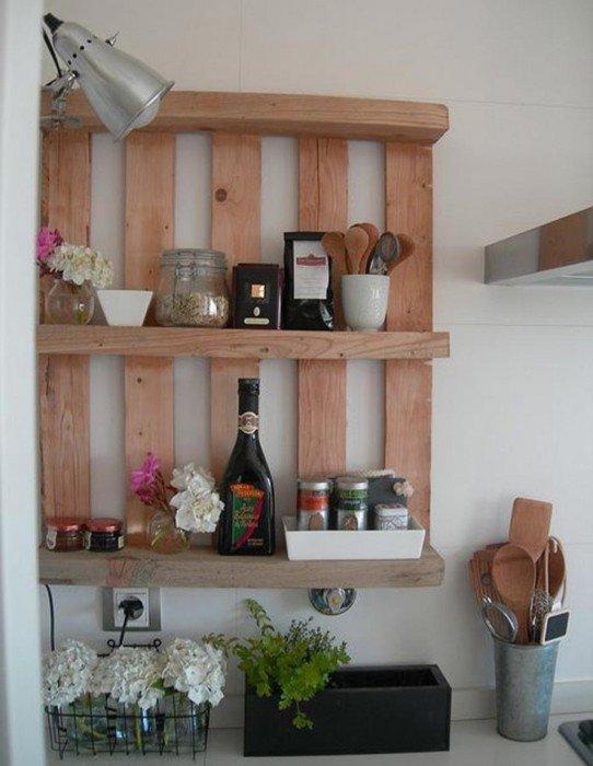 Узкие полки на кухню своими руками фото 16