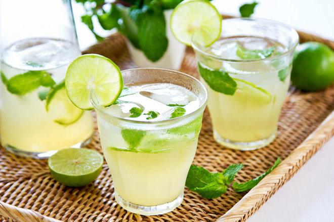 Напиток с лаймом и мятой в домашних условиях 131
