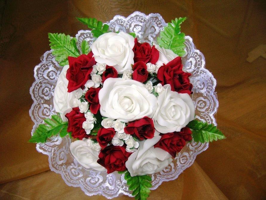 Искусственные букеты невест своими руками 1000
