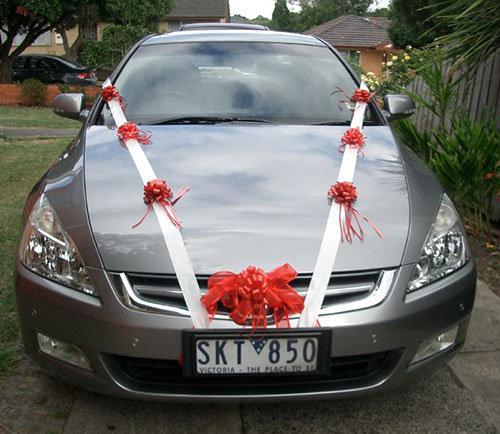 Украсим автомобиль на свадьбу своими руками 405