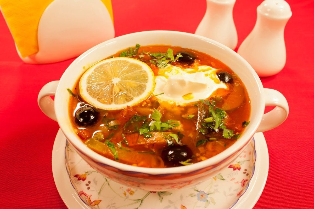 Сборная мясная солянка рецепты пошаговые фото