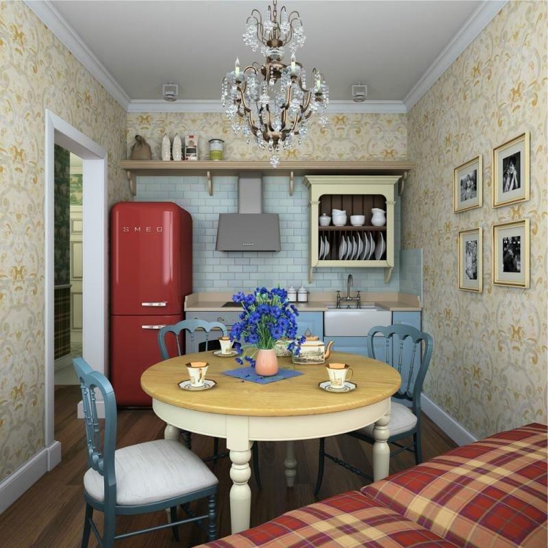 Дизайн двухкомнатной квартиры в домах серии п-44т
