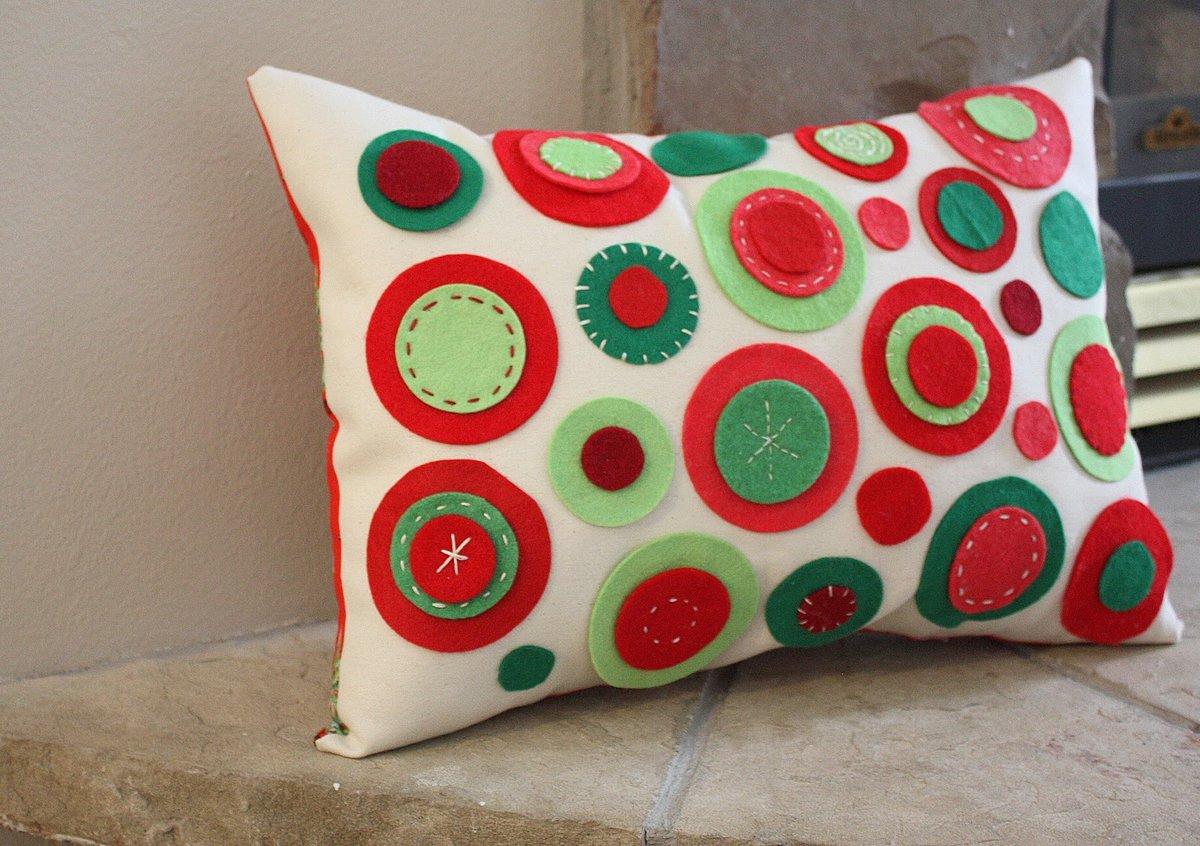 Сшить своими руками оригинальную диванную подушку