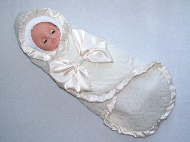 Летний конверт для новорожденного на выписку своими руками