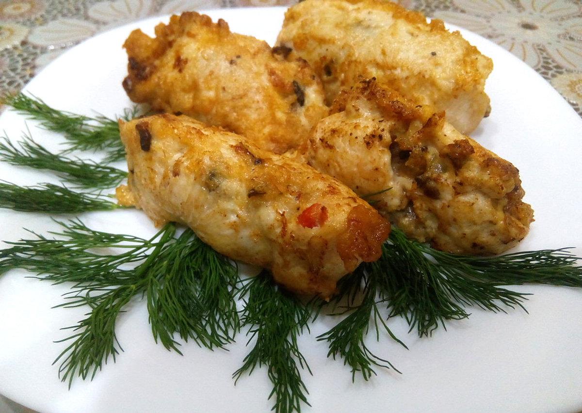 Куриное филе в духовке с помидорами и сыром в духовке рецепт с пошагово в