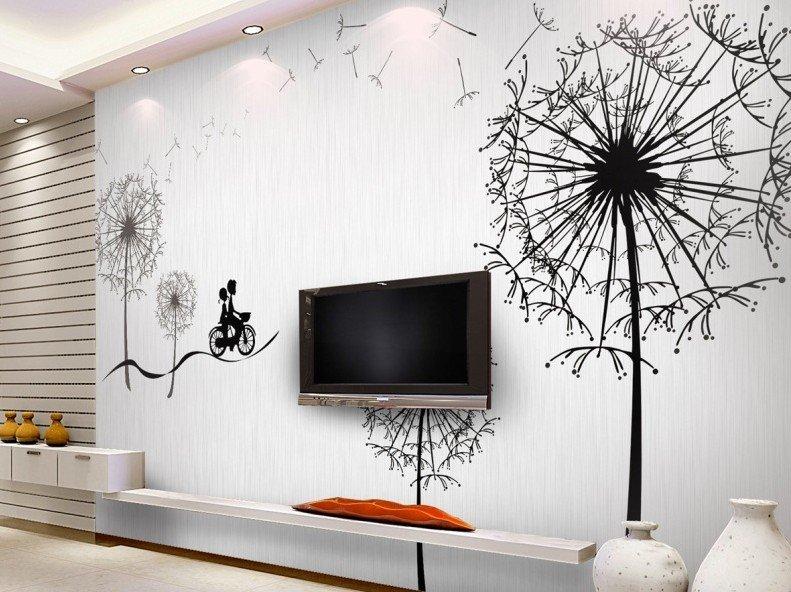 Стены с рисунками своими руками 821