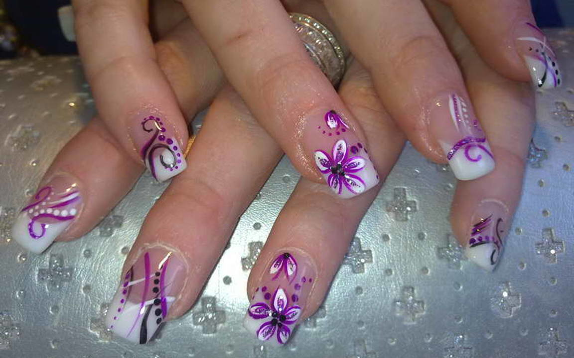 Картинки фото рисунки на ногтях
