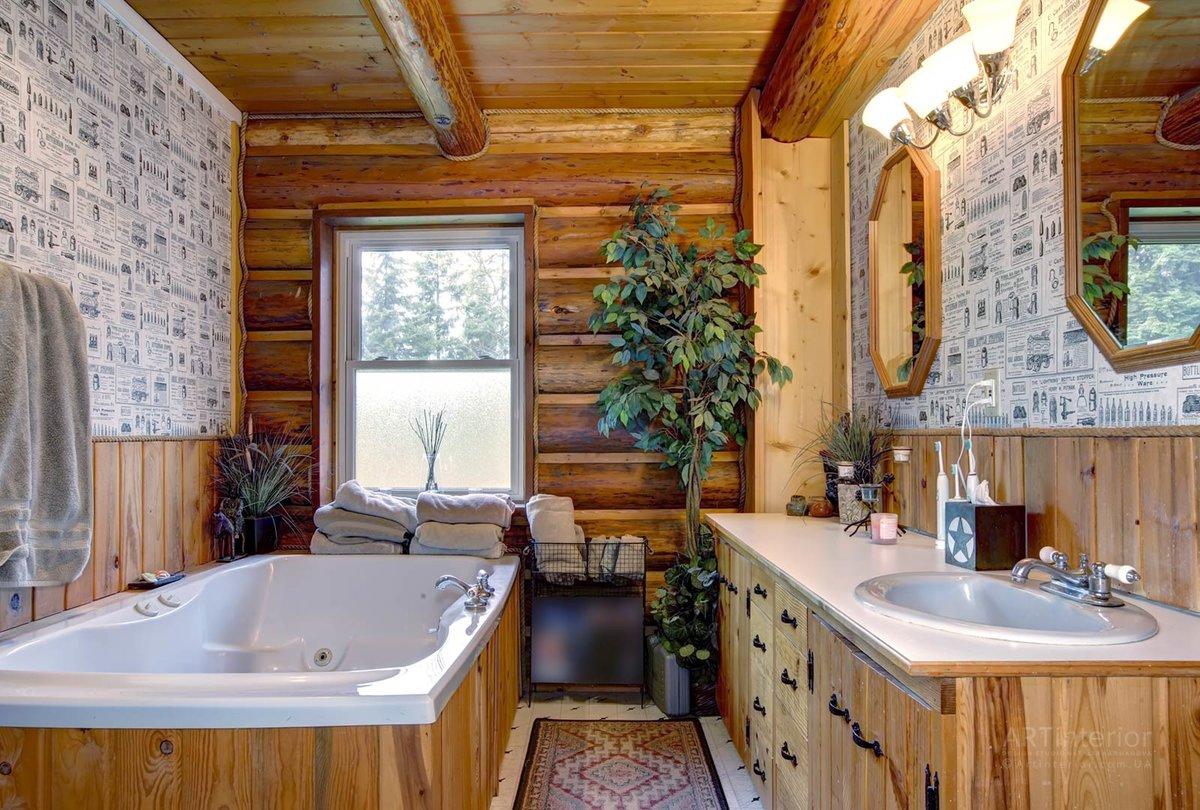 Как сделать ванную комнату на втором этаже с деревянным перекрытием