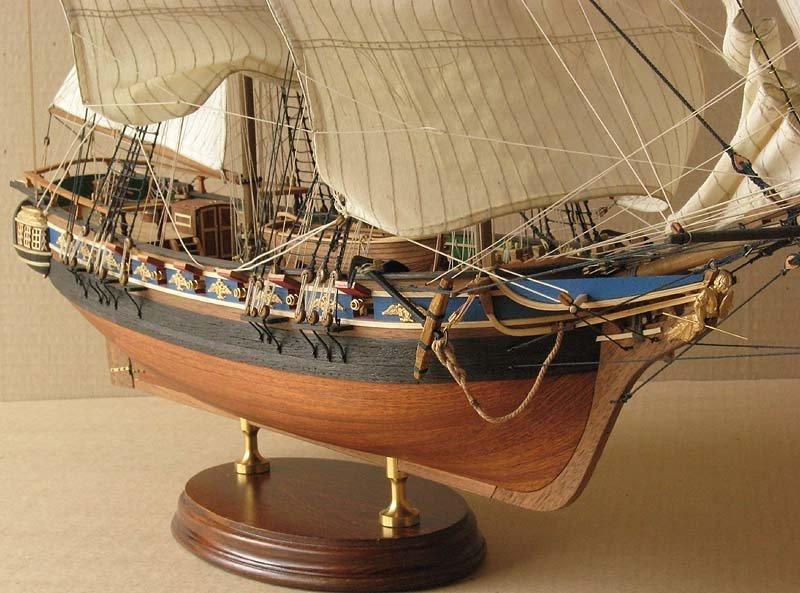 Как сделать парусный корабль из дерева своими руками 96