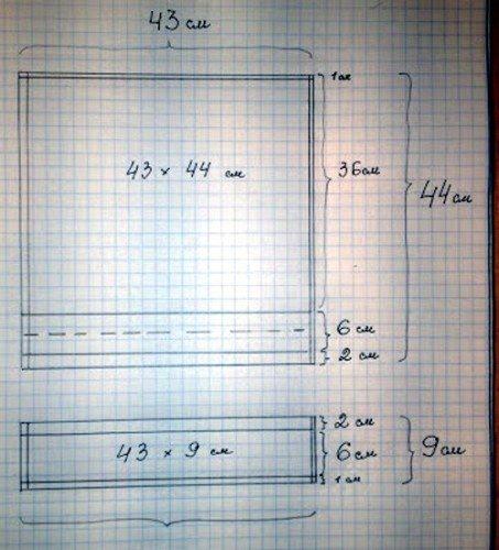 Прямоугольная подушка как сшить 754