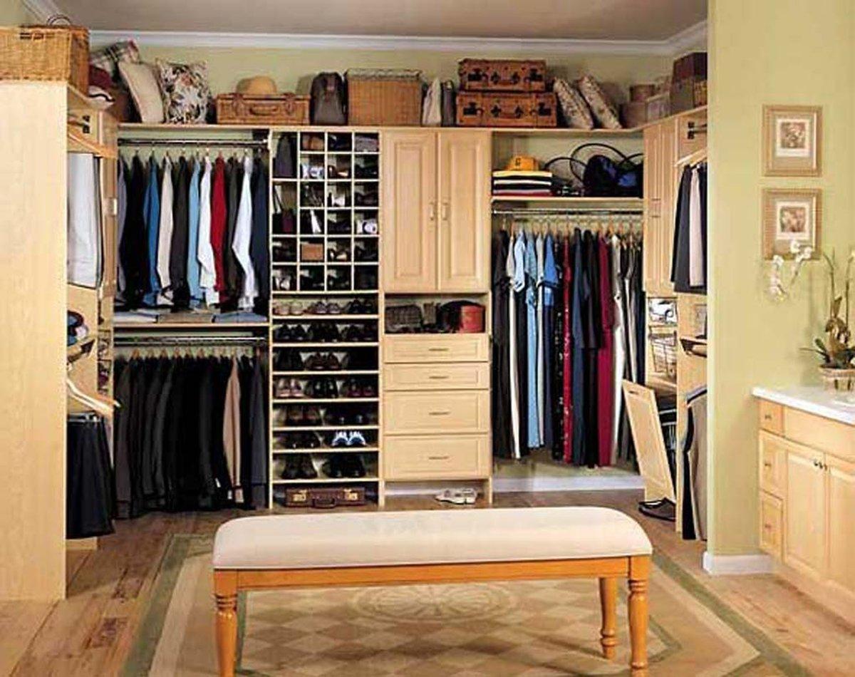 Система хранения в гардеробной своими руками
