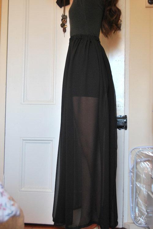 Как сшить длинную юбку в пол быстро и легко?
