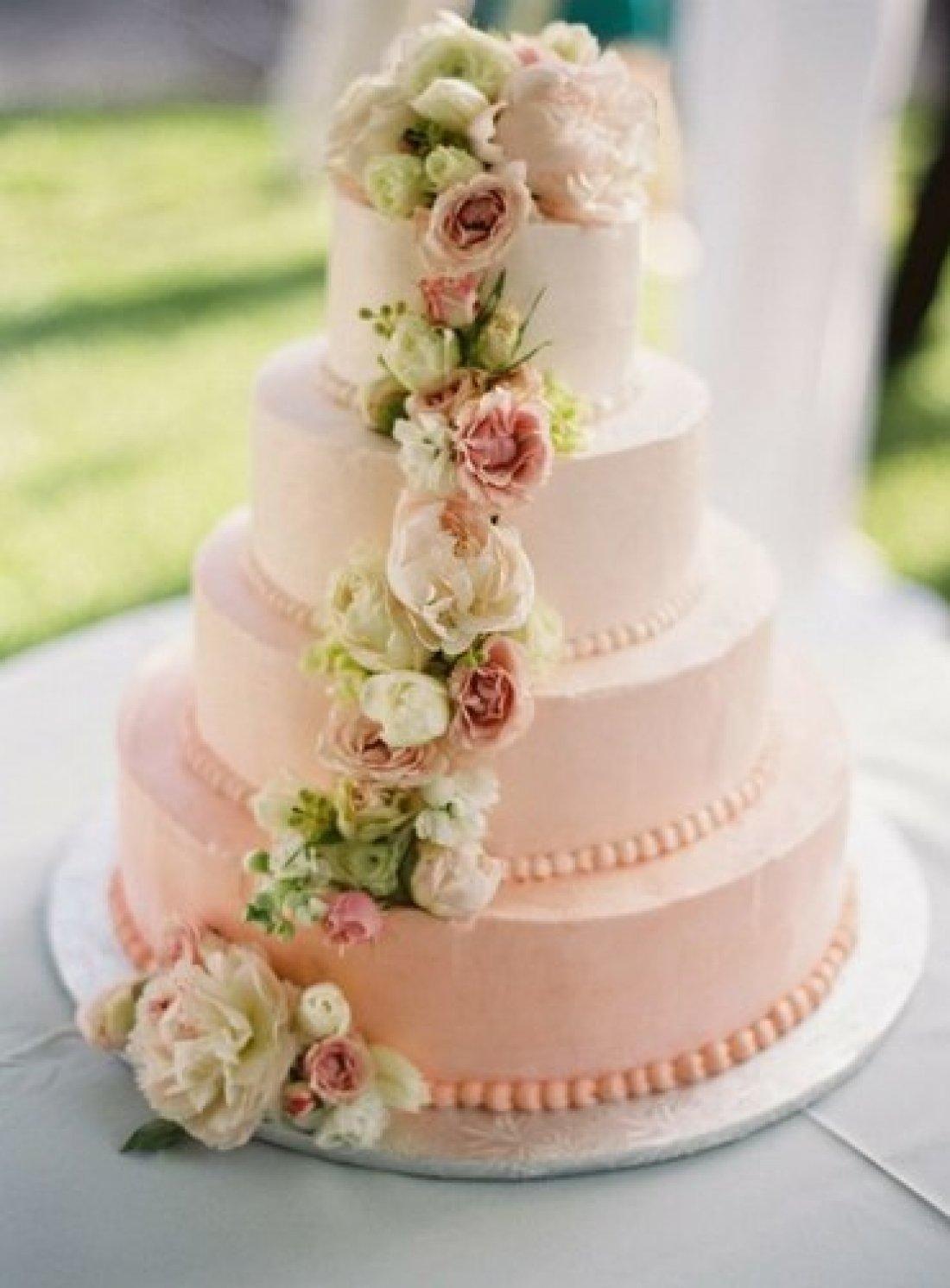 Украшение торты на свадьбу фото
