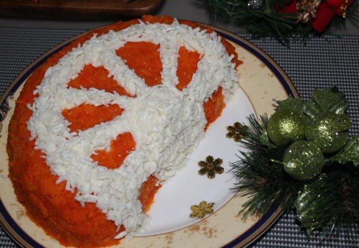 Новогод салаты 2017-2018 рецепты