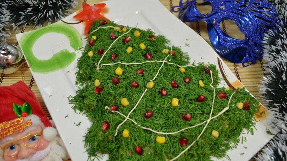 Какие салаты мы готовим на новый год