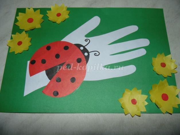 Детские аппликации из цветной бумаги своими руками