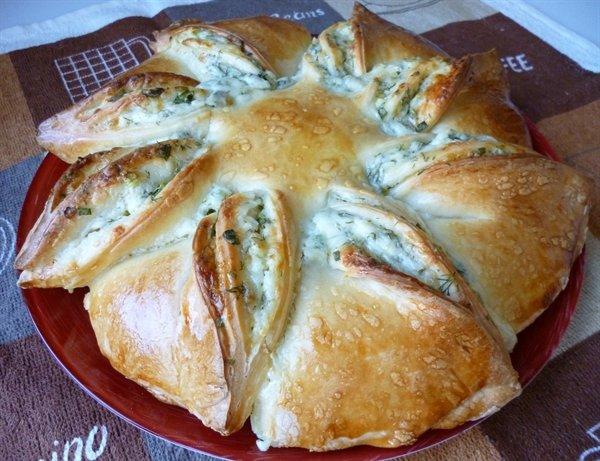 Рецепт пирогов с брынзой