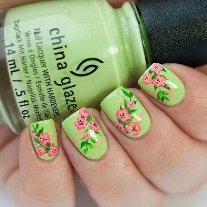 Шеллак для ногтей дизайн новинки весны