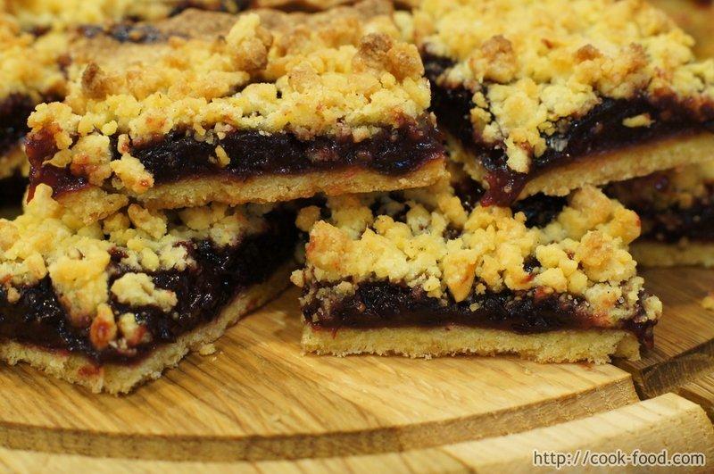 Печенье на кефире с начинкой рецепт