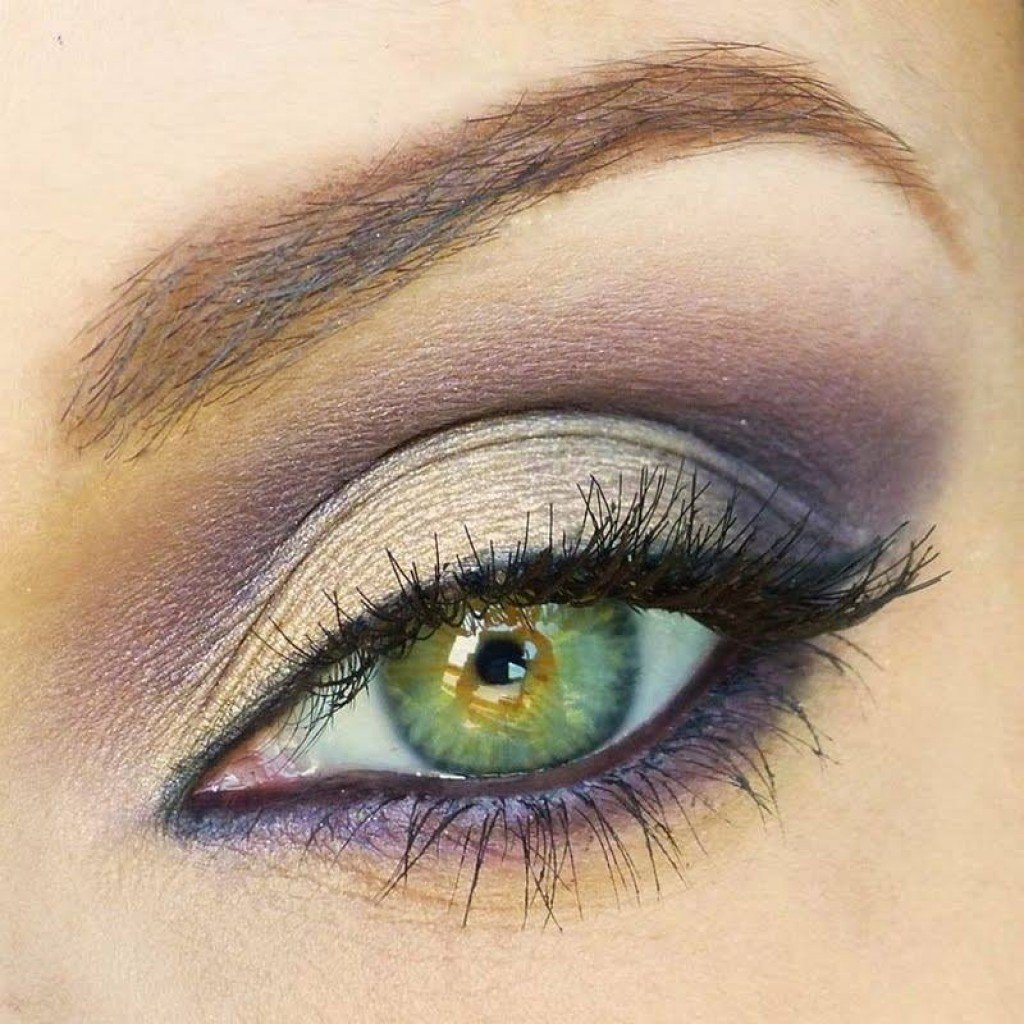 Виды макияжа для зеленых глаз
