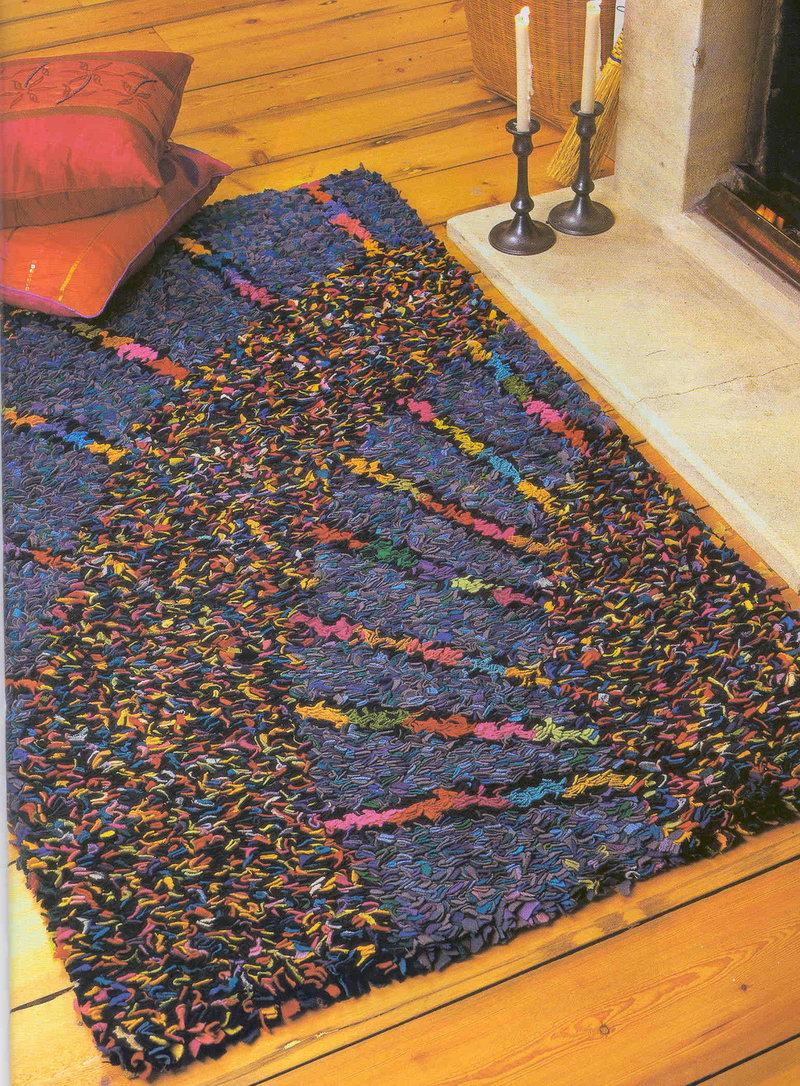 Сшить коврик своими руками из старых вещей