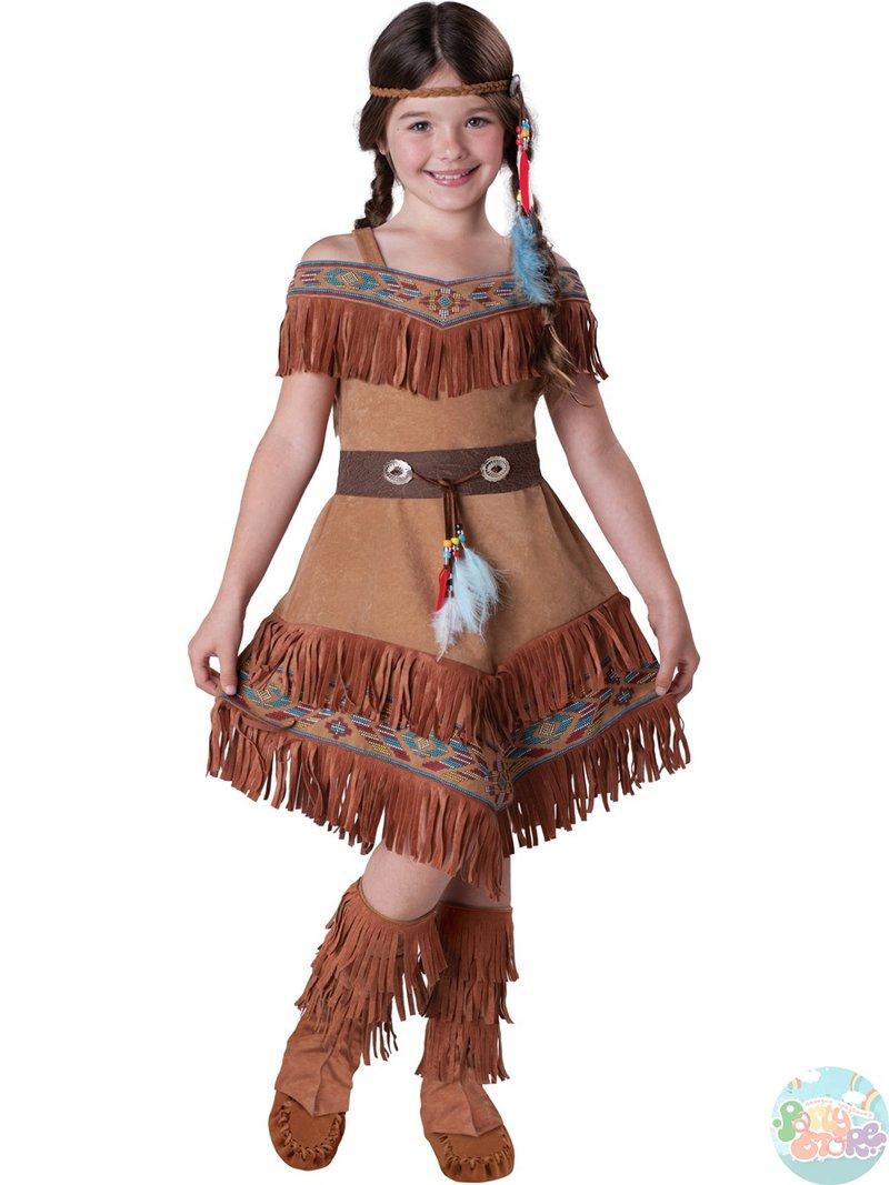 Костюмы индейцев для девочек своими руками