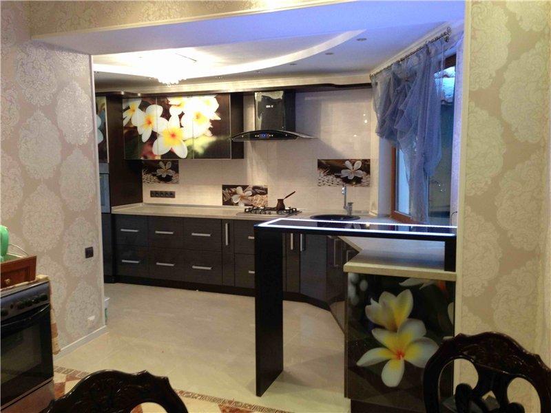 Барная стойка на кухне хрущевка дизайн