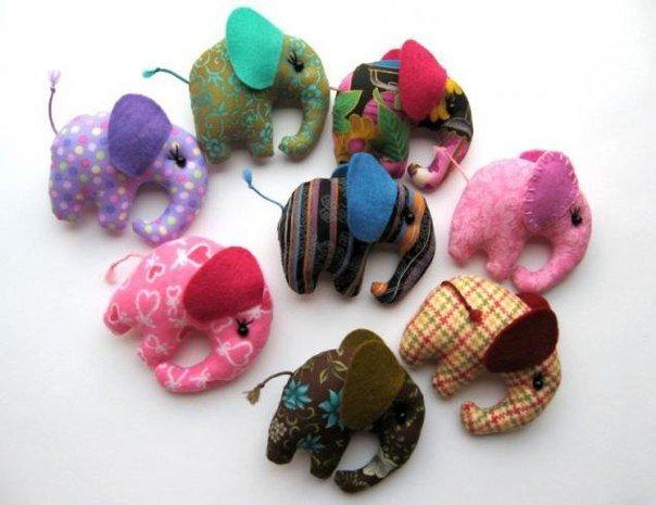 Мелкие мягкие игрушки своими руками
