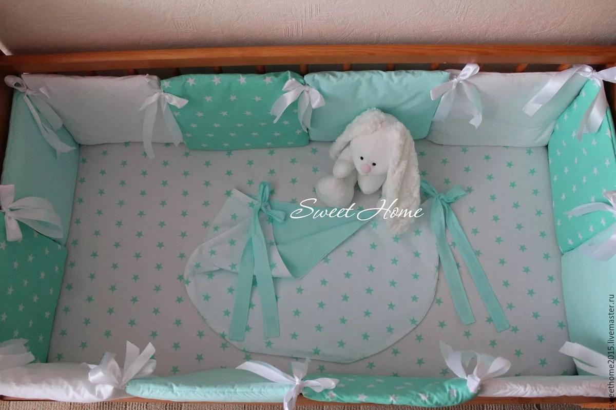 Как сделать бортики для детской кроватки руками и