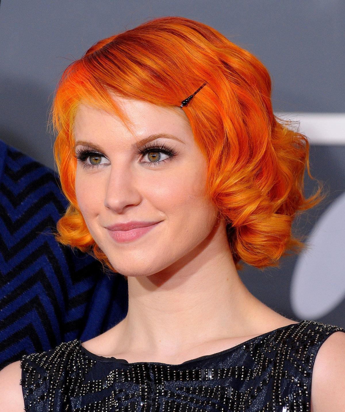 Стрижка каре рыжие волосы