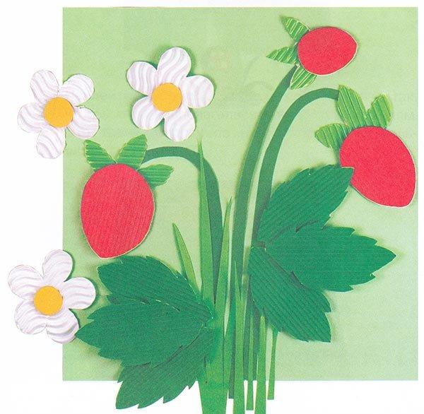Корзина с цветами поделка осенняя