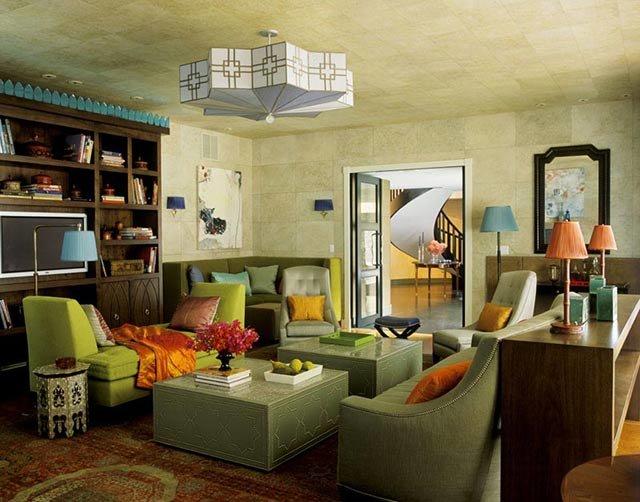 Необычные интерьеры гостиных фото
