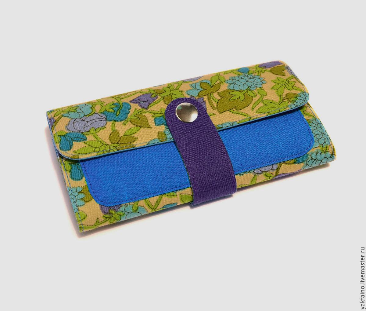 Бумажник из ткани своими руками 2
