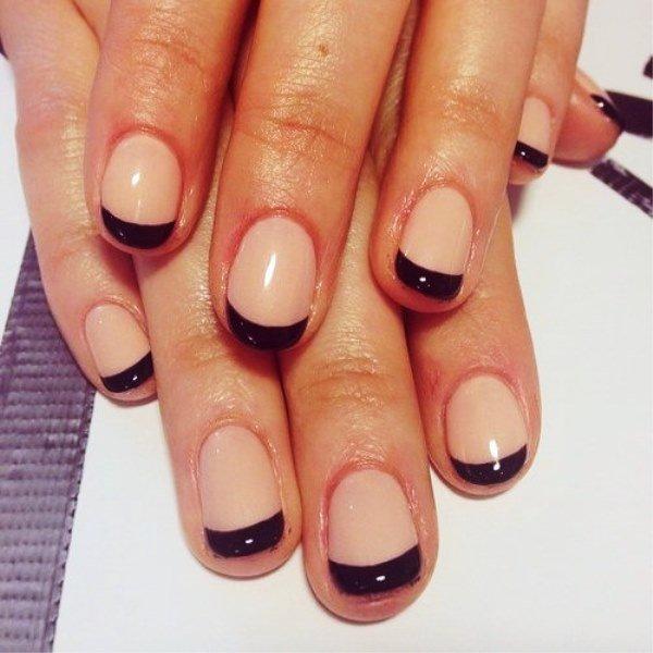 Фото френч маникюра на короткие ногти