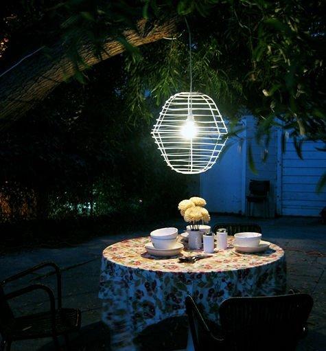 Сделать светильники для сада