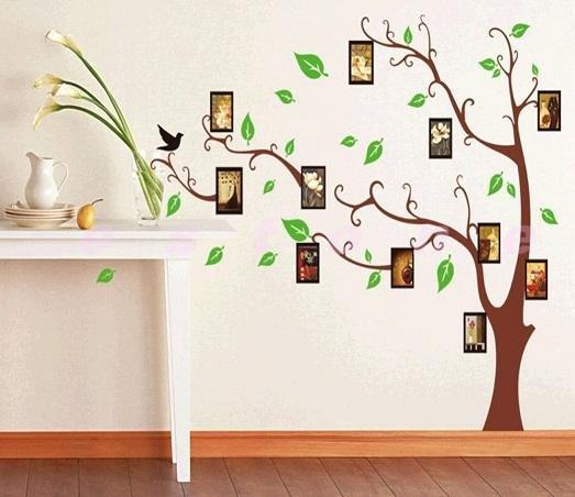 Как сделать на стене в картинках