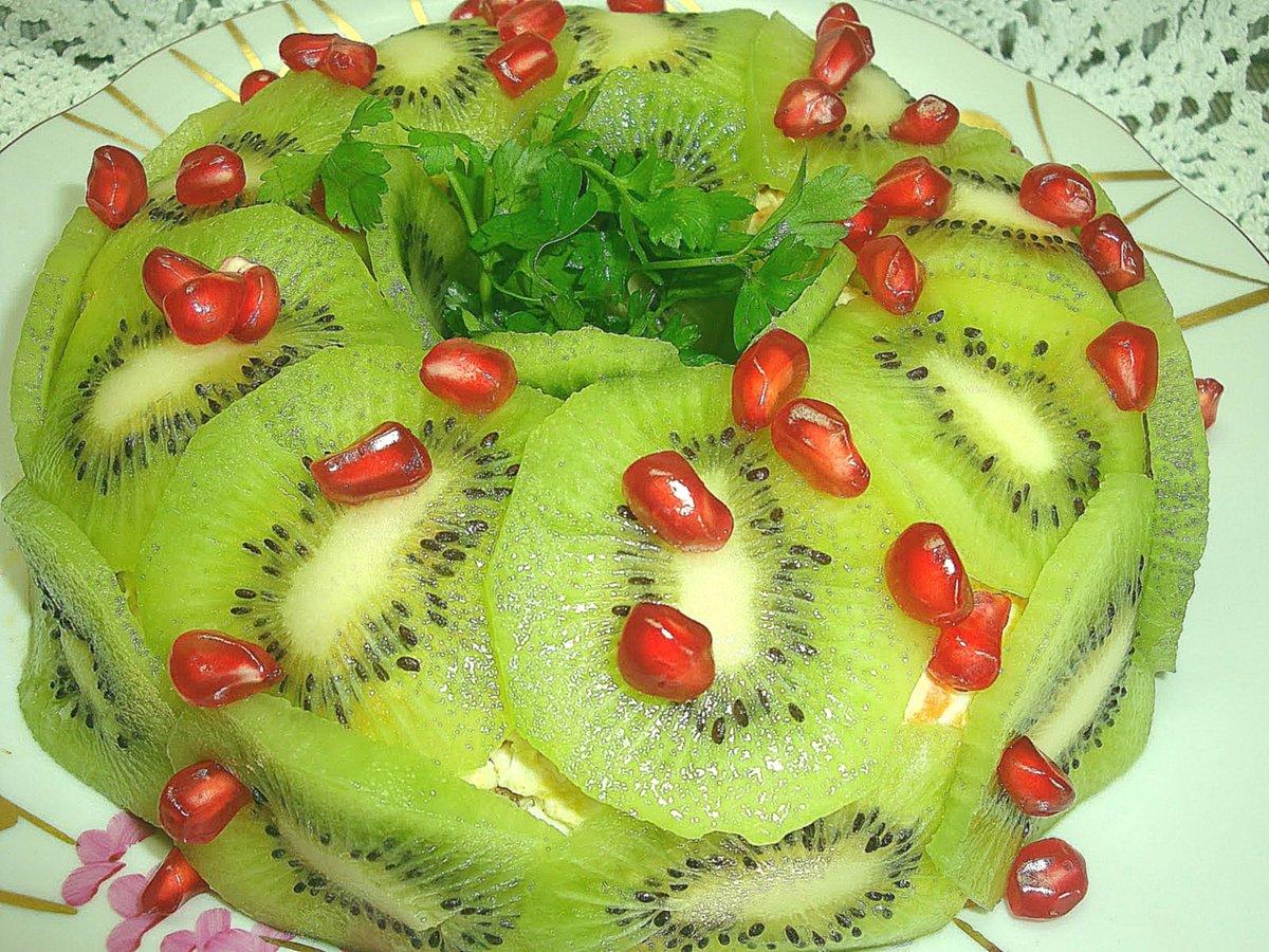 Рецепты салата малахитовый браслет с