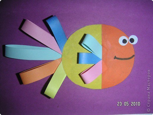 Поделки для детей 3 лет из бумаги