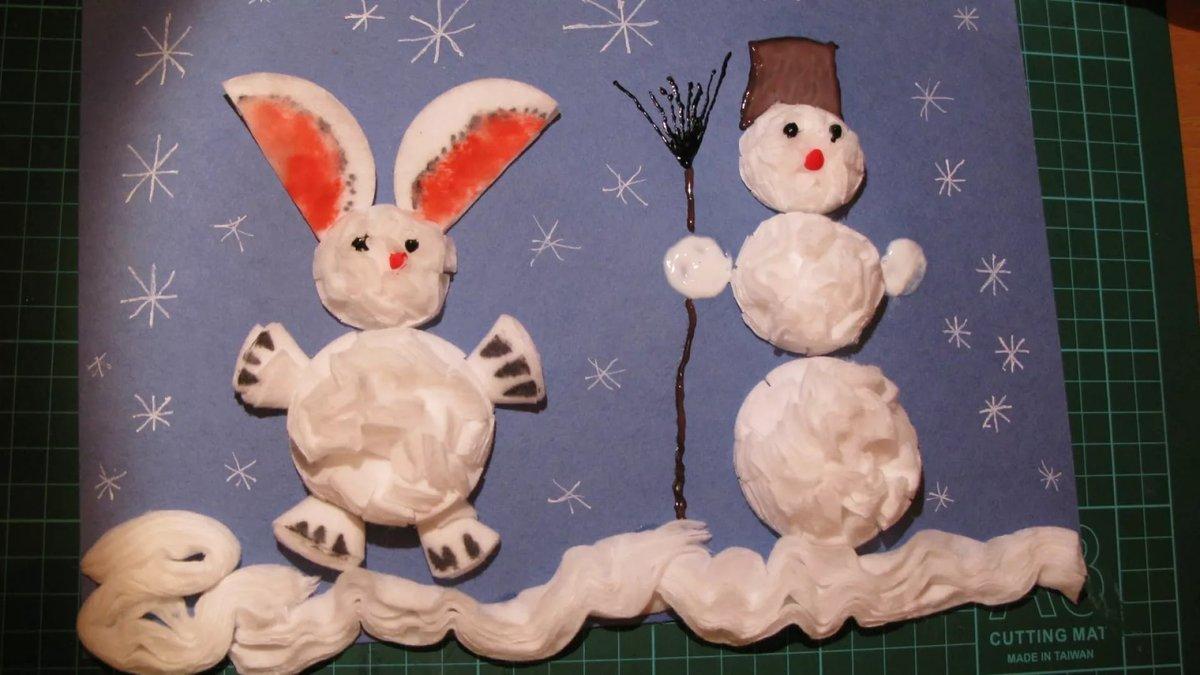 Детские новогодние поделки своими рукам