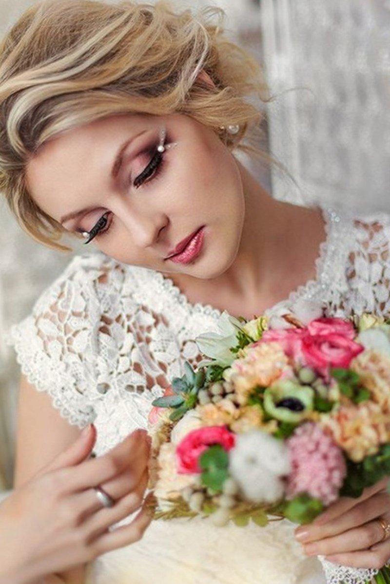 Макияж на свадьбу девушкам
