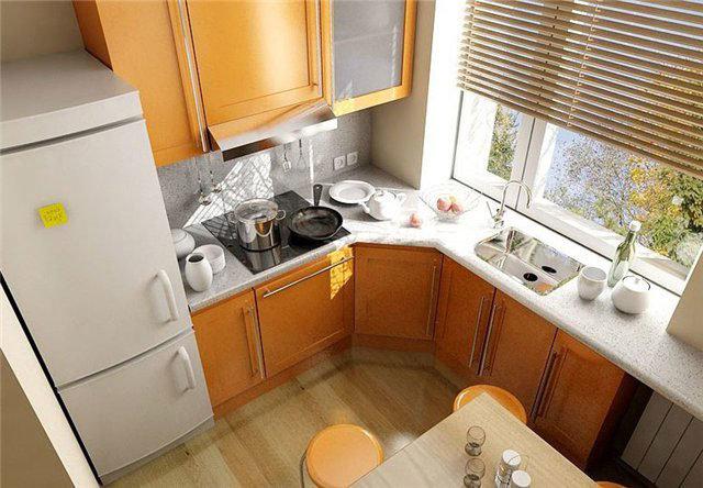 Кухня в хрущевке 6 метров дизайн