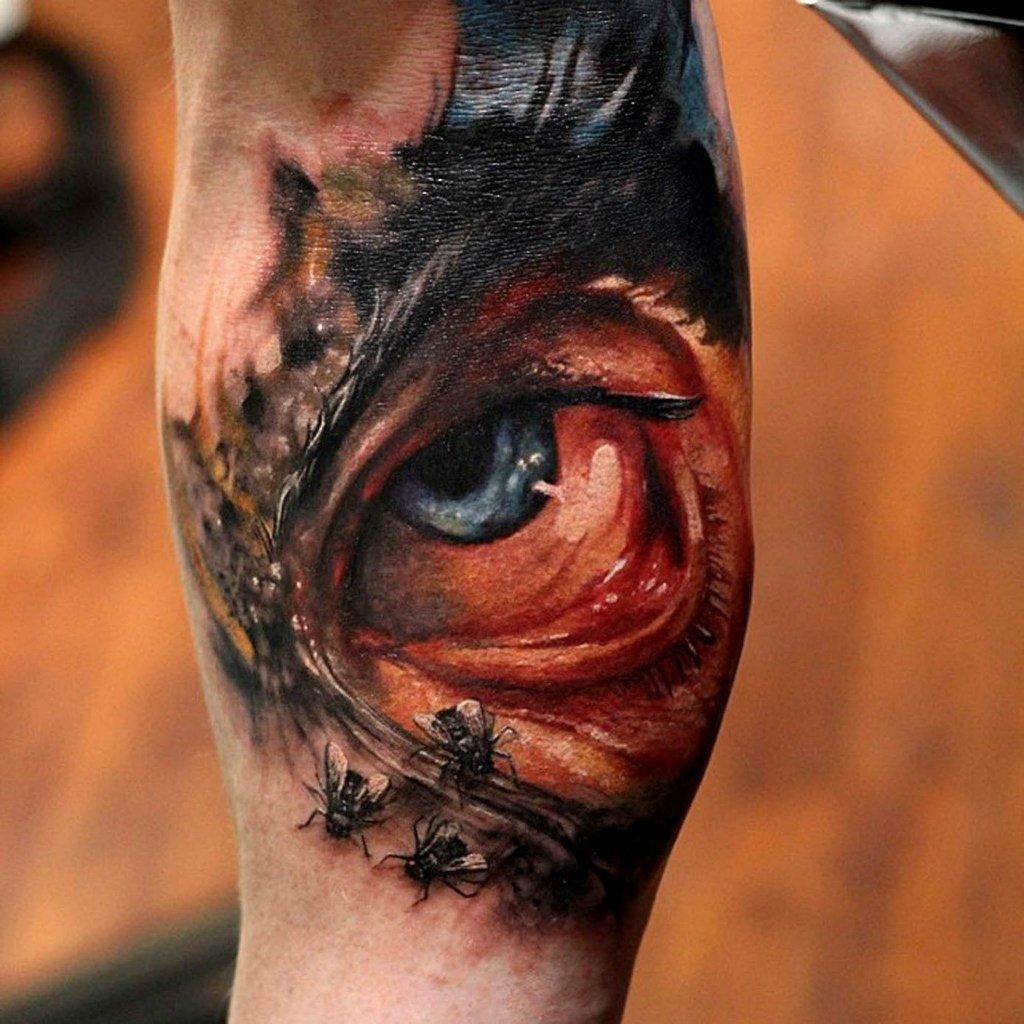 Фото самых реалистичных татуировок