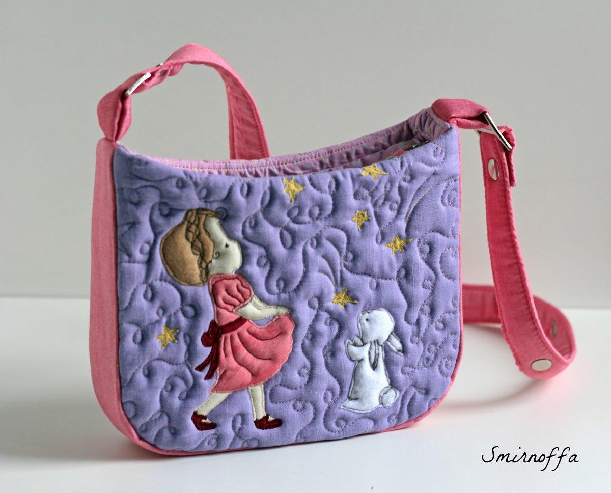 Маленькая сумка для девочки своими руками 38