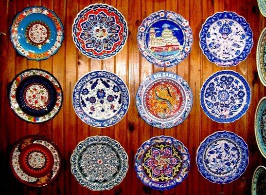 Разрисовать тарелки своими руками