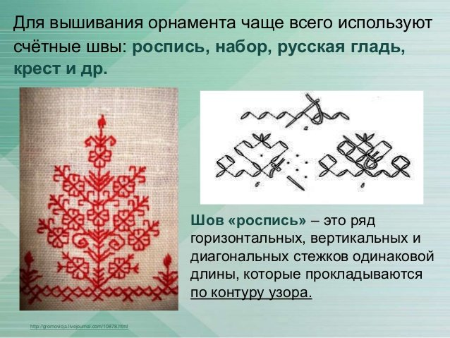 Счетные схемы для вышивки 81