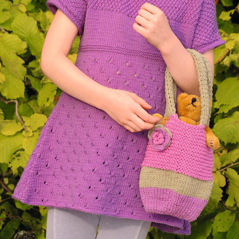 Вязание для девочек сумки 32