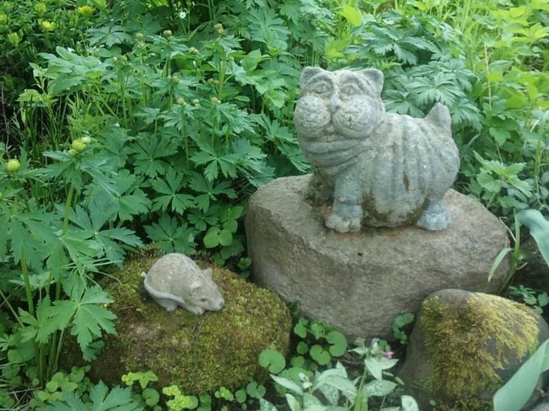 Как своими руками сделать садовую скульптуру 56